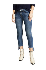 Cate Mid rise ankle skinny jean