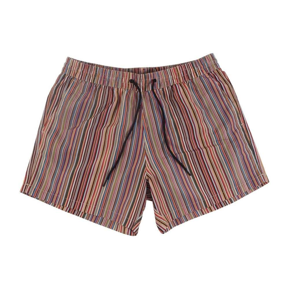 Classic Striped Swim Shorts
