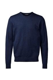 Blå Clipper Pullover