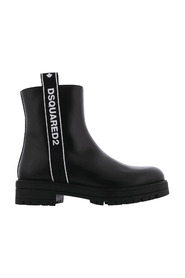 Ankle Boots Zip Logo