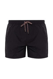Uni-colored swim shorts