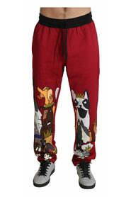 Dogs Print Sport Trousers