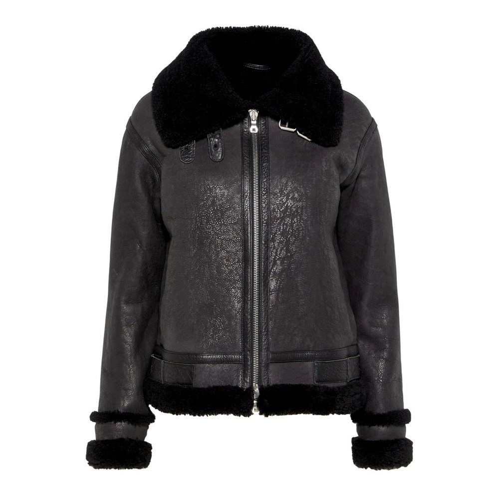 Jacka Marcelle Distressed Shearling