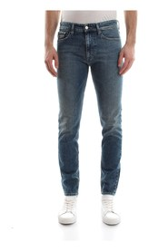 CALVIN KLEIN JEANS J30J306712911 SKINNY JEANS Men DENIM MEDIUM BLUE