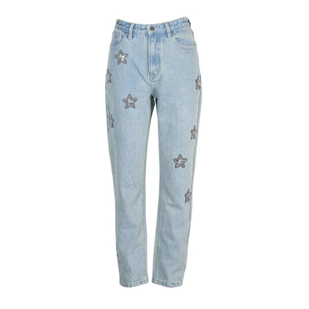 Cosmos Patch Jeans