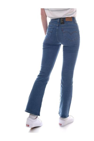 Blue 725 High Rise Bootcut Levi's Skinny Jeans