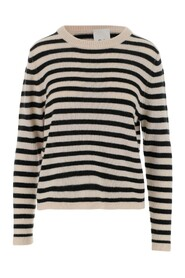 HORIZONTAL STRIPES JUMPER WOOL AND CASHMERE