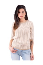 Lurex effect sweater