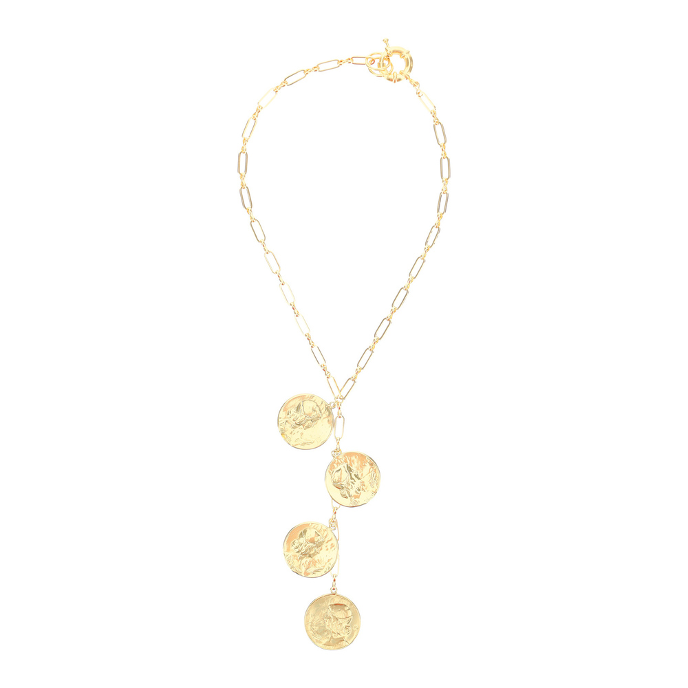 necklace with medallions