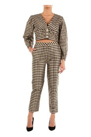 Suit   Women Gold and black