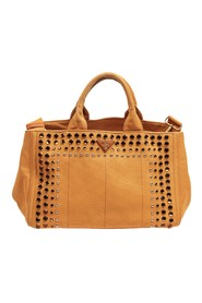 Studded Canapa Tote