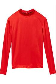 Rode dames blouse Maison Scotch - 146515