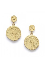 Sisters Coin Earrings Accessories