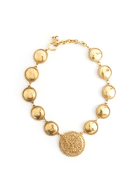Rare circled necklace