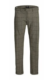 Plus size Chinos Check