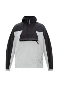 Windbreaker with logo