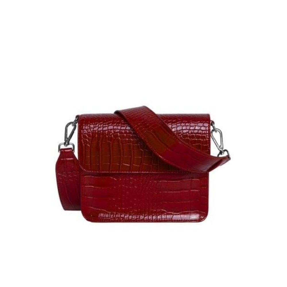 Crossbody Cayman glanzende band