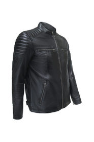 Leather Jacket Motor style Men