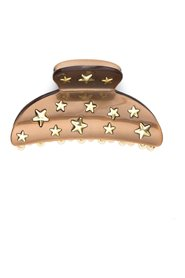 STAR STUD HAIR CLAW LARGE