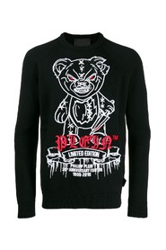 Bear embroidery jumper