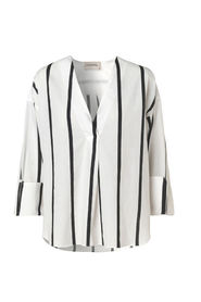 By Malene Birger Bobinoh Striped Black White