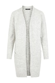 FRONT OPEN KNITTED CARDIGAN