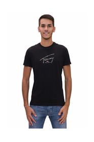 T-Shirt con logo camouflage