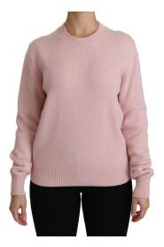 Crew Neck Cashmere Pullover Sweater