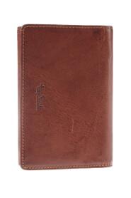 Tre-winged læder tegnebog