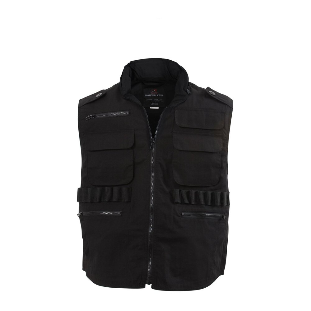 Black Ranger Vest Army And Workwear Vester