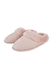 Pink Suedette Mule Accz Lifestyle Slippers Mules