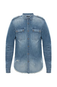 Time-worn denim shirt