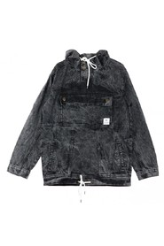 Anorak Denim Slip-on Jacket