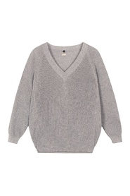 Thin sweater lurex