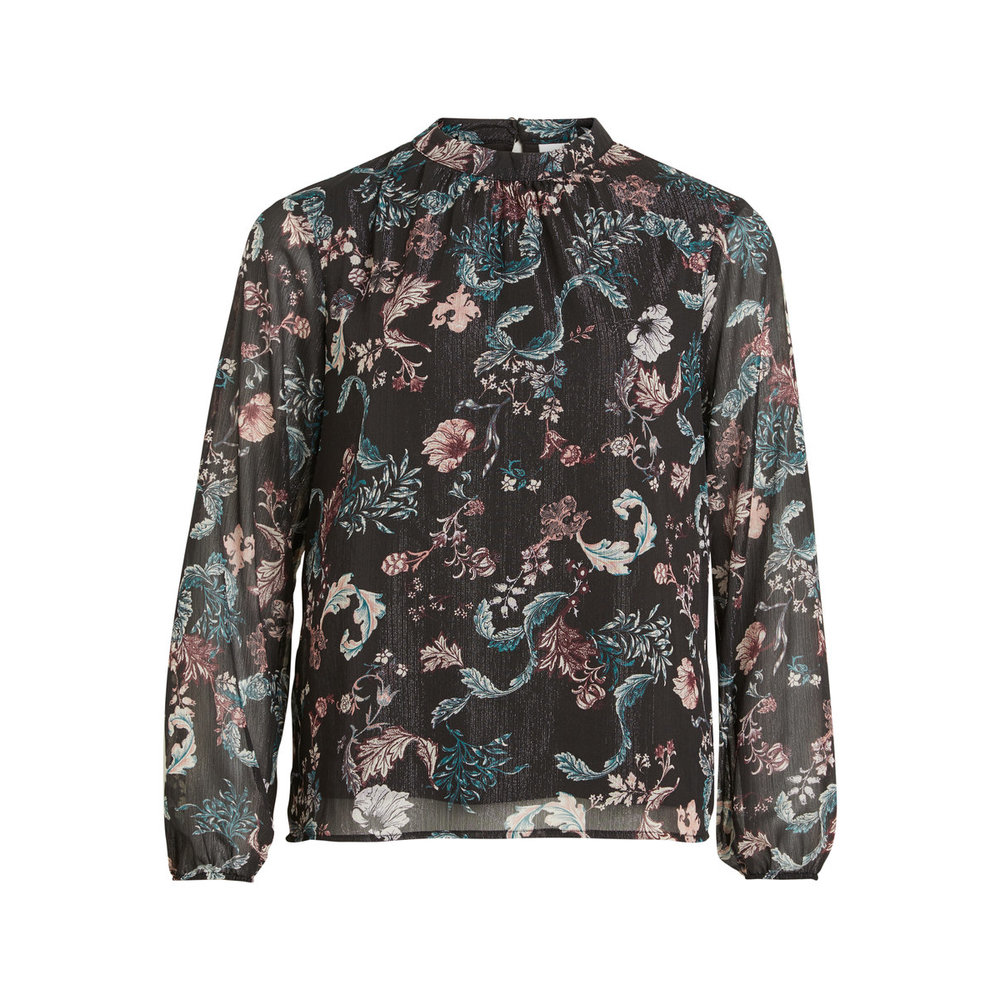 Long sleeved blouse Patterned