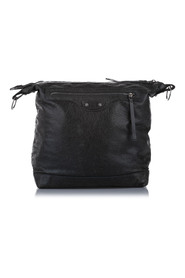 Pre-owned Motocross Classic Day Shoulder Bag Leather Lambskin