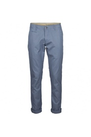 Blå Knowledge Cotton Apparel Chuck the Brain chinos