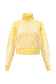 Wool roll neck sweater