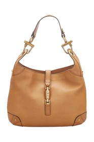 Leather Nailhead New Jackie Shoulder Bag