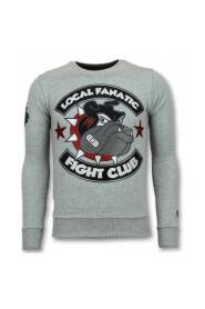 Fight Club Sweater Bulldog Herre Sweater Sweaters mænd