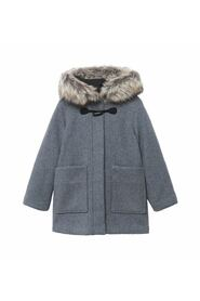 hooded coat removable