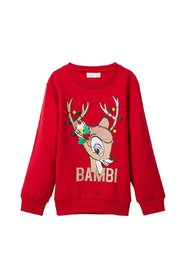Sweatshirt disney bambi christmas