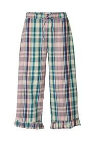 Check Print Estrid Pants