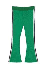O'Chill Groene flaired broek Jantien