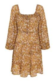 La Romarine Midi Dress La Medina Paisley Print Dresses