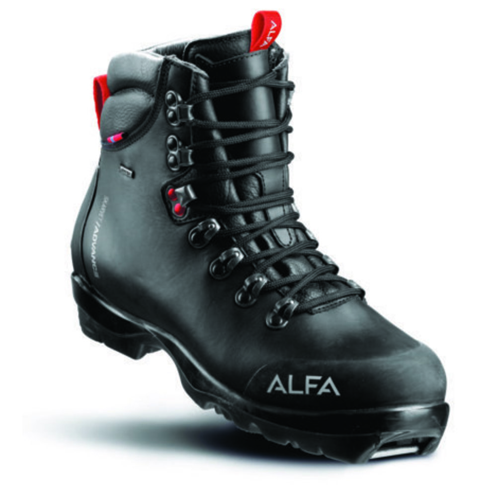 Alfa BC Advance Fjellskisko Dame Sort