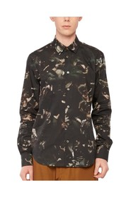 Camouflage flowers shirt