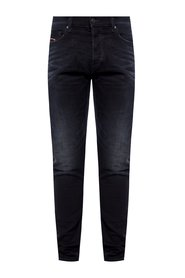 'Tepphar-X' jeans with gathers