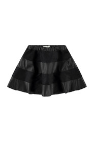 NKFSHANNON PU SKIRT Black | Freewear Zwart