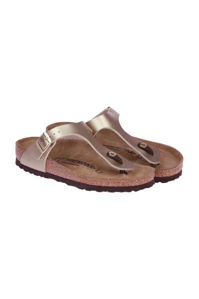 Birkenstock Yellow Gizeh Normal Teenslipper Sandalen - Geel